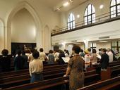 関東ブロック主催 原爆死没者追悼礼拝「夏雲の集い」報告